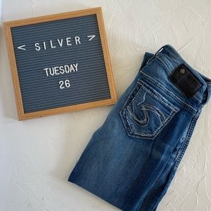 """Silver """"Tuesday"""" Jeans"""